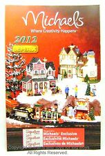 Lemax 24588 CHRISTMAS VILLAGE 2012 PRODUCT BROCHURE Collectible Buildings New I