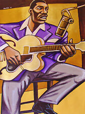 GEORGE BENSON PAINTING jazz new boss guitar the other side abbey road cd archtop