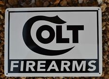 Colt Firearms Shotgun Pistol SIGN Gun Shop Repair Logo 380 Mustang Defender 7day
