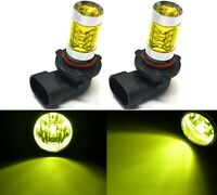LED 80W 9040 Yellow 3000K Two Bulbs Fog Light Replacement Lamp Plug Play Lamp OE