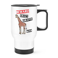 giraffe travel coffee mug | eBay
