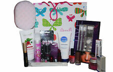 24pc Glam Belleza Maquillaje Skin & Nail Art Set De Regalo + Revlon Bourjois Sally Hansen