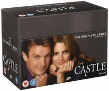 Castle Season 1 + 2 + 3 + 4 + 5 + 6 + 7 + 8 [45x DVD] *NEU* Staffel Serie 1-8