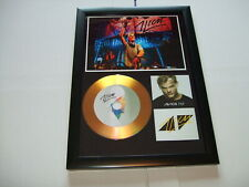 AVICII    SIGNED  GOLD CD  DISC