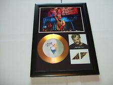 AVICII    SIGNED  GOLD CD  DISC