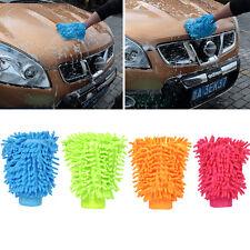 MICROFIBRE CAR WASHING CLEANING MITT GLOVE POLISHING SHAMPOO DUSTER CLOTH