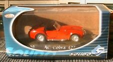 AC COBRA 427 SOLIDO 1909 CABRIOLET ROADSTER 1/43 RED ROSSO ROT DIE CAST MODEL