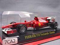 Ferrari Collection F1 F10 Fernando Alonso  1/43 Scale Mini Car Display Diecast 2