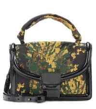 NWT Authentic DRIES VAN NOTEN Jacquard & Patent Leather Shoulder Bag