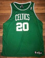 Authentic NBA Adidas Boston Celtics Ray Allen Jersey 20 Sewn Stitched Size 56