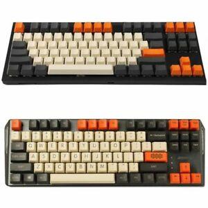 Ymdk Carbon Keycap Set For Mx Chery Mechanical Gaming Keyboard Keyset Top Print