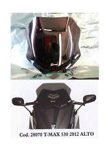 CUPOLINO SPOILER PARABREZZA NERO FUME' ALTO YAMAHA T-MAX TMAX 530 cc 2012 ->2016
