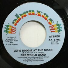 Soul Nm! 45 3Rd World Band - Let'S Bookie At The Disco / Blank On Abraxas