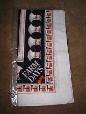 NOS Vintage FRAM Filter Advertising FARM DAYS Hankie Handkerchief Bandana