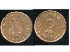 LETTONIE  2 santimi  2006  ( bis )
