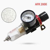 Aria Compressore Filtro Separatore Umidità Regolatore Strumenti Manometro Mini