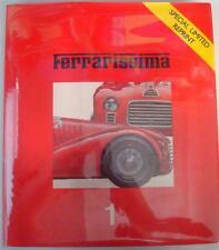 FERRARISSIMA 1 (SPECIAL LIMITED REPRINT) GIANCENZO MADARO CAR BOOK
