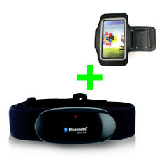 BLUETOOTH Heart Rate Monitor + ARMBAND/CASE COVER for SAMSUNG GALAXY S6,S7,S8,S9