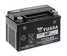 Bateria Yuasa YTX9-BS activada, lista para instalar