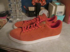 11ff02bd4 ADIDAS STAN SMITH Energy Orange sneakers shoes suede Men s 13 NEW