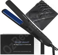 Silver Bullet Keratin 230 Titanium Blue Hair Straightener Styler