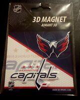 WASHINGTON CAPITALS - 3D Magnet ***BRAND NEW***