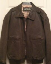 Excelled Brown Leather Jacket Size 2XL