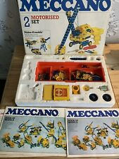 Meccano Set 2, Motorised from 1978, Excellent, Brass Gears