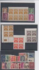 3. Reich Briefmarken Konvolut Sammlung 45 Stück WWII