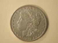 1896-O U.S Morgan Silver Dollar EF