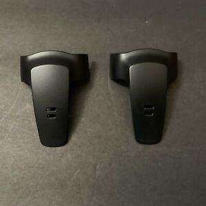 TWO Panasonic PQKE10352 Phone Handset Belt Clips For kx-tga230b kx-tg2382b