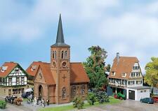 Faller 130239 H0 Kleinstadt-Kirche #NEU in OVP##