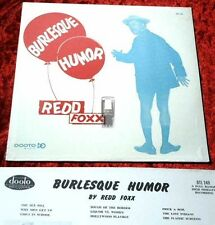 LP Redd Foxx: Burlesque Humor Neuware!!!