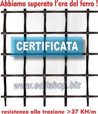 Rete per Massetto e Intonaco Certificata - Fibra di Vetro - Rotolo da 1 x 50 mt.