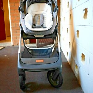 STOKKE SCOOT V2 STROLLER GREY FOLDING PRAM - SYDNEY