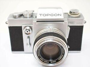 Topcon RE Super Camera with 58mm f1.8 Topcor Lens