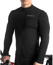 Przewalski Men's Cycling Jersey Thermal Long Sleeve Breathable Size S RRP £39