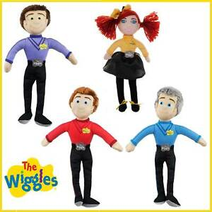 The Wiggles Plush Toy Emma Lachy Simon Anthony Wiggle Doll Licensed Soft Child