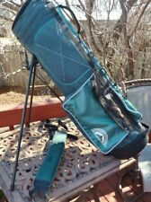 Sun Mountain Sports Teal Green Stand Golf Bag, Summit