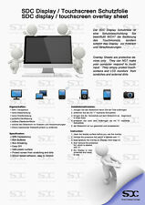 """Sdc 7"""" Película protectora para 7-pulgadas radio Navegación pantalla Táctil"""