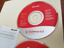 Microsoft IntelliPoint Mouse Software 5.3 and 6.1 for Mac, very good condition