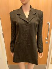 Lois Snyder Dani Max Pin Stripe Smart Jacket - UK Ladies Size 12