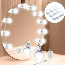 Hollywood Style LED Vanity Mirror Lights Kit for Makeup Dressing 10 Bulb FASHION