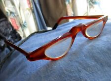 Vtg Jason Olympus Eyeglasses Tortoise Retro Semi Circle Frames France