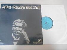 LP Klassik Albert Schweitzer - spielt Bach (8 Song) CBS / SCHALLPLATTENCLUB