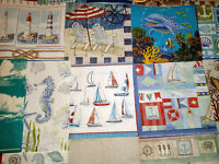 Set of 22 Paper Napkins ~ Art, Decoupage, Crafts ~ SAND, COAST, SHELLS, NAUTICAL