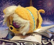 Disney Aristocats Hit Cat Mini Tsum Tsum Plush Yellow Stuffed Animal Soft NEW