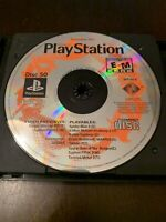 Official Playstation Magazine OPM Demo Disc 50 Nov 2001 PS1 Disc Only
