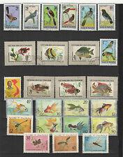 années 70 Viêt Nam un lot de timbres oblitérés  / T1699