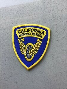 California Highway Patrol Trooper Civilian Police Patch CHP